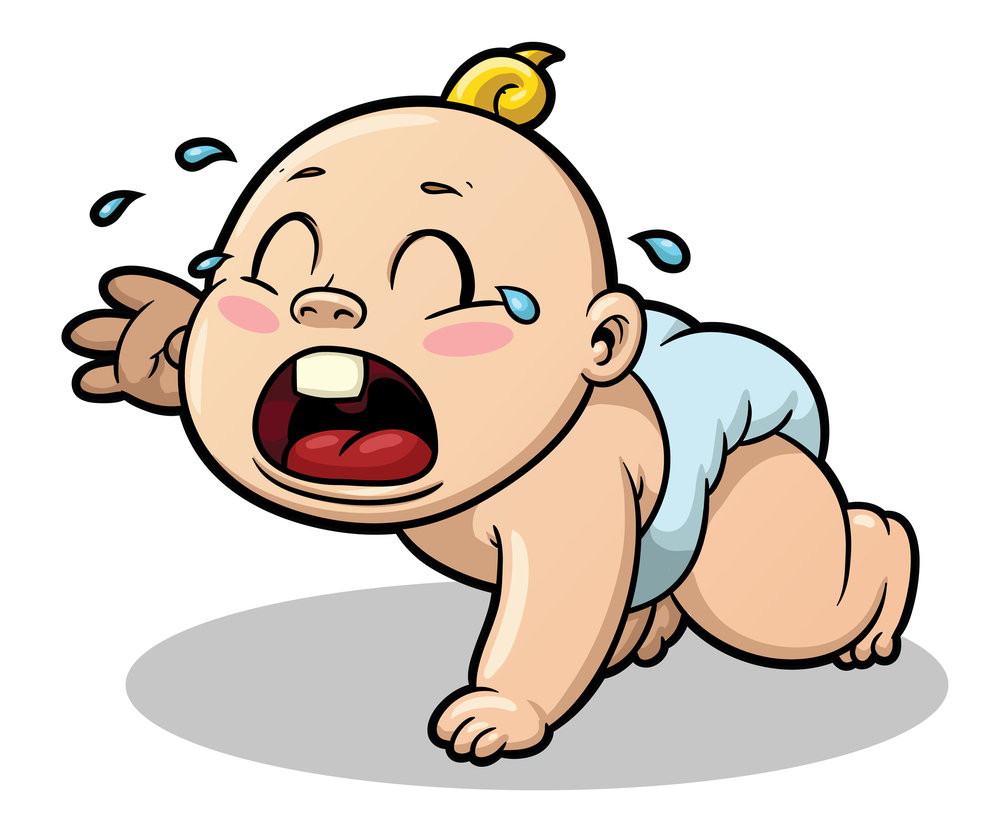 Baby crying clipart jpg royalty free Free Crying Baby Cartoon, Download Free Clip Art, Free Clip Art on ... jpg royalty free