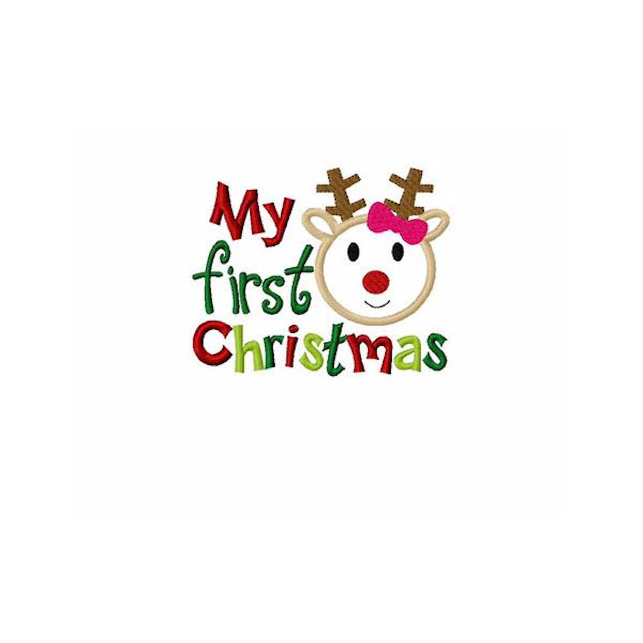 My first christmas clipart