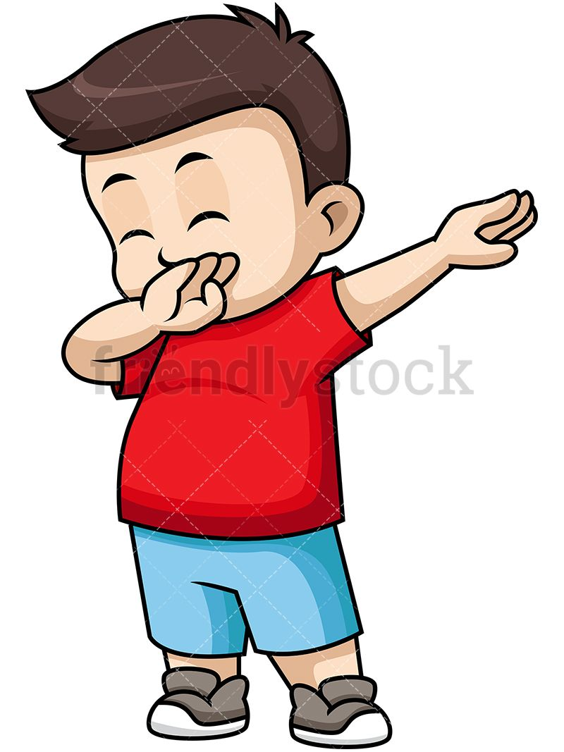 Babies on the move clipart royalty free stock Dabbing Little Boy   My Favorite Art Pictures   Vector clipart, Kids ... royalty free stock