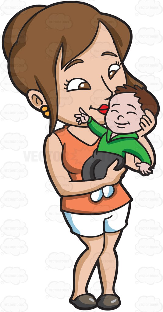 Babies with kisses clipart clipart free stock Kiss Baby Clipart clipart free stock