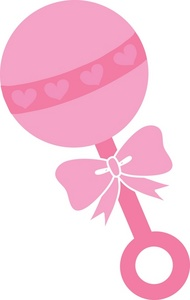 Baby rattle pictures clipart