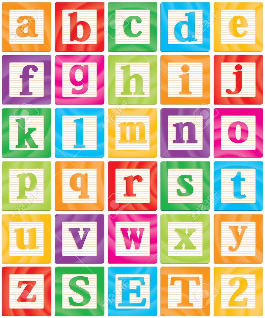 Clipart of alphabet letter blocks - ClipartFest png transparent download