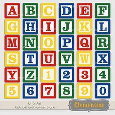 Baby alphabet blocks clipart. Letter bock clipartfest blue