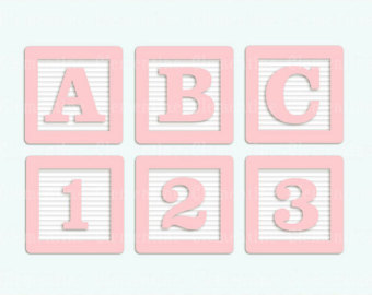 Baby Blocks Clipart - Clipart Kid freeuse library