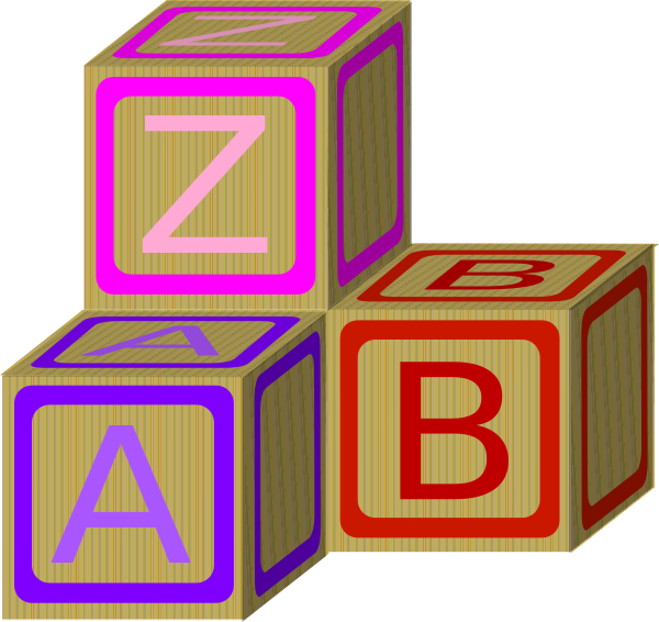 Baby Blocks Abc 2 Clip Art at Clker.com - vector clip art online ... jpg download