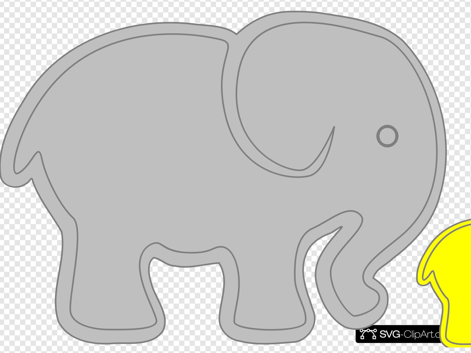 Baby and adult animal clipart clip transparent Adult Elephant With Baby Elephant Clip art, Icon and SVG - SVG Clipart clip transparent