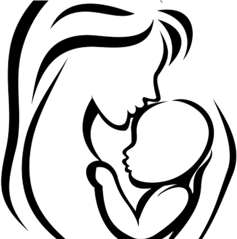 Mom and baby clipart jpg freeuse library HD Mother And Baby Clipart African American - Drawing Mom And Baby ... jpg freeuse library