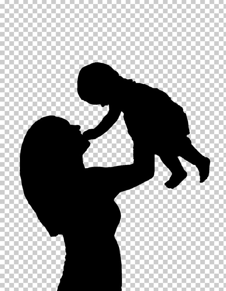 Baby and mother silhouette clipart black and white graphic freeuse stock Mother Child Silhouette PNG, Clipart, Arm, Art Child, Baby, Black ... graphic freeuse stock