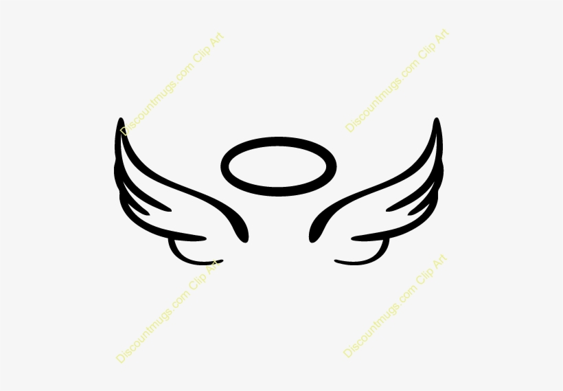 Baby angel wings clipart black and white banner library download Baby Angel Wings Clipart 2 By Steven - Draw A Angel Halo PNG Image ... banner library download