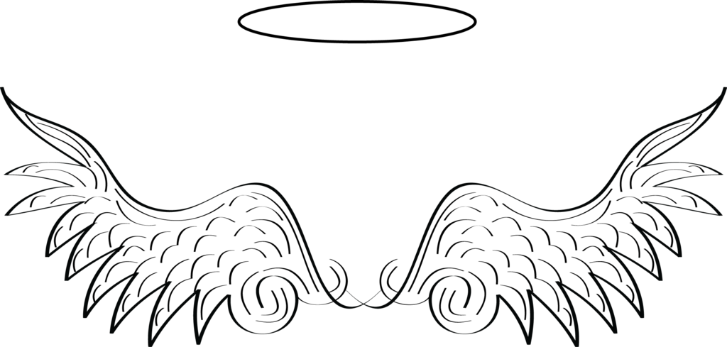 Baby angel wings clipart black and white clipart transparent Baby angel wings clipart clipart images gallery for free download ... clipart transparent