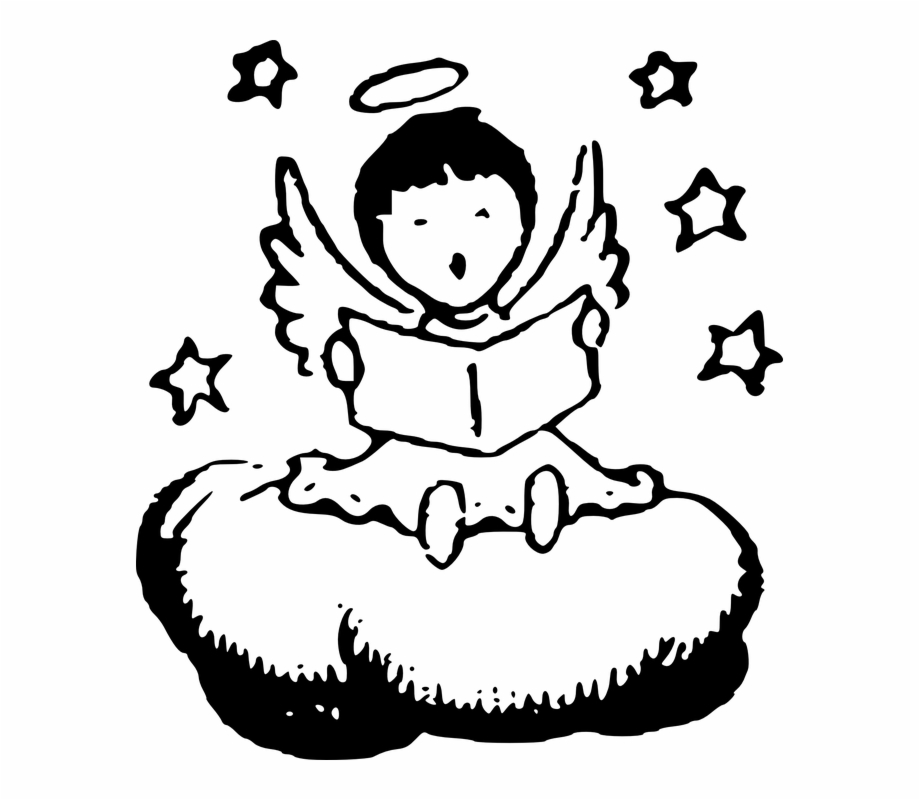 Baby angel wings clipart black and white picture transparent stock Baby Angel Png Black And White Transparent Baby Angel - Boy Angel ... picture transparent stock