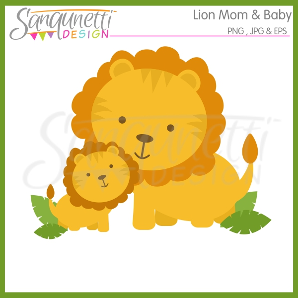 Cute parent and baby animal clipart - ClipartFest png freeuse download