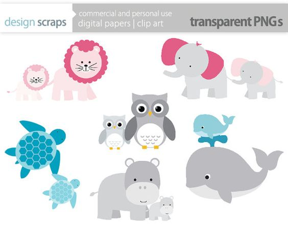 mom baby animal clip art graphics, baby shower mother's day ... vector transparent download