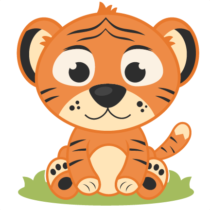 Baby animals clipart filetype png svg free stock Baby tiger clipart 3 - WikiClipArt svg free stock
