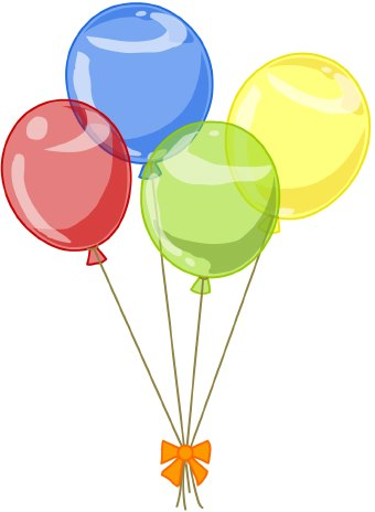 Baby ballons with string in green clipart graphic Free Yellow Balloon Cliparts, Download Free Clip Art, Free Clip Art ... graphic