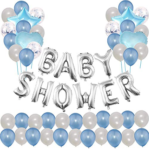 Baby boy shower balloons clipart svg royalty free download Baby Shower Balloon: Amazon.co.uk svg royalty free download