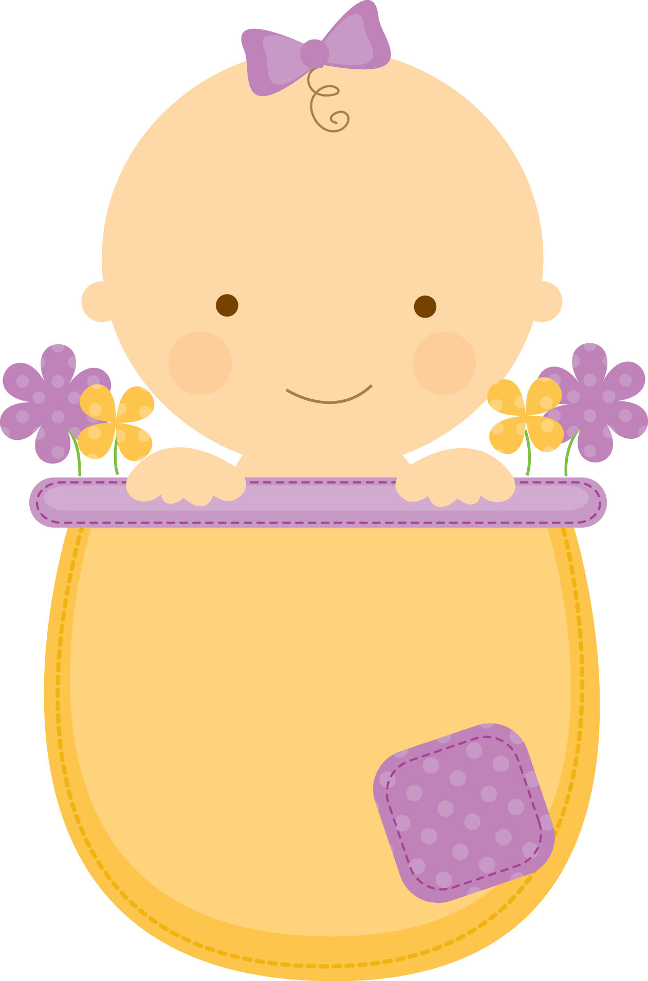 Baby baseball onesie clipart vector freeuse stock Flowerpot Babies - ClipArt.BABYINFLOWERPOT_Purple.png - Minus ... vector freeuse stock