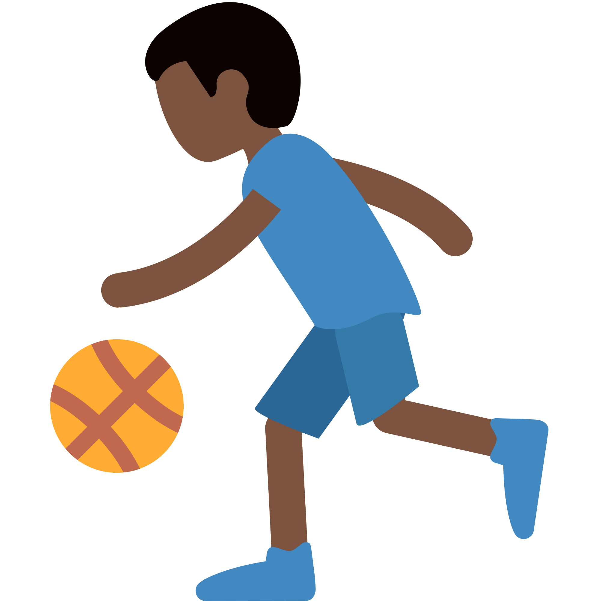 Baby basketball clipart jpg library download Collection of Playing Basketball Clipart | Buy any image and use it ... jpg library download