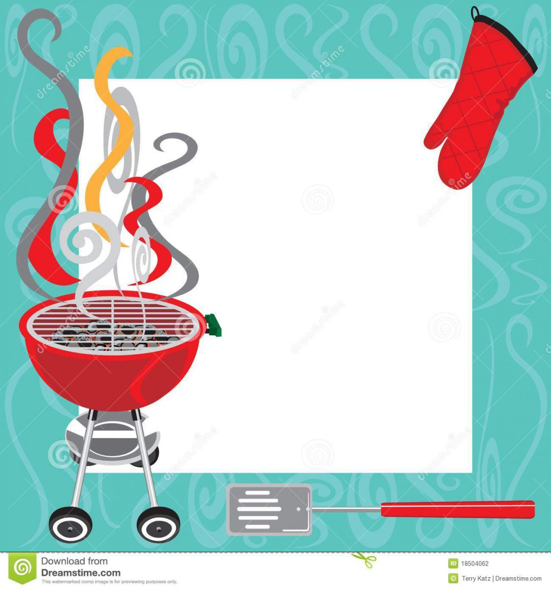 Baby bbq clipart free vector black and white download 014 Barbecue Invitation Templates Free Resume Bbq Party Flyer ... vector black and white download
