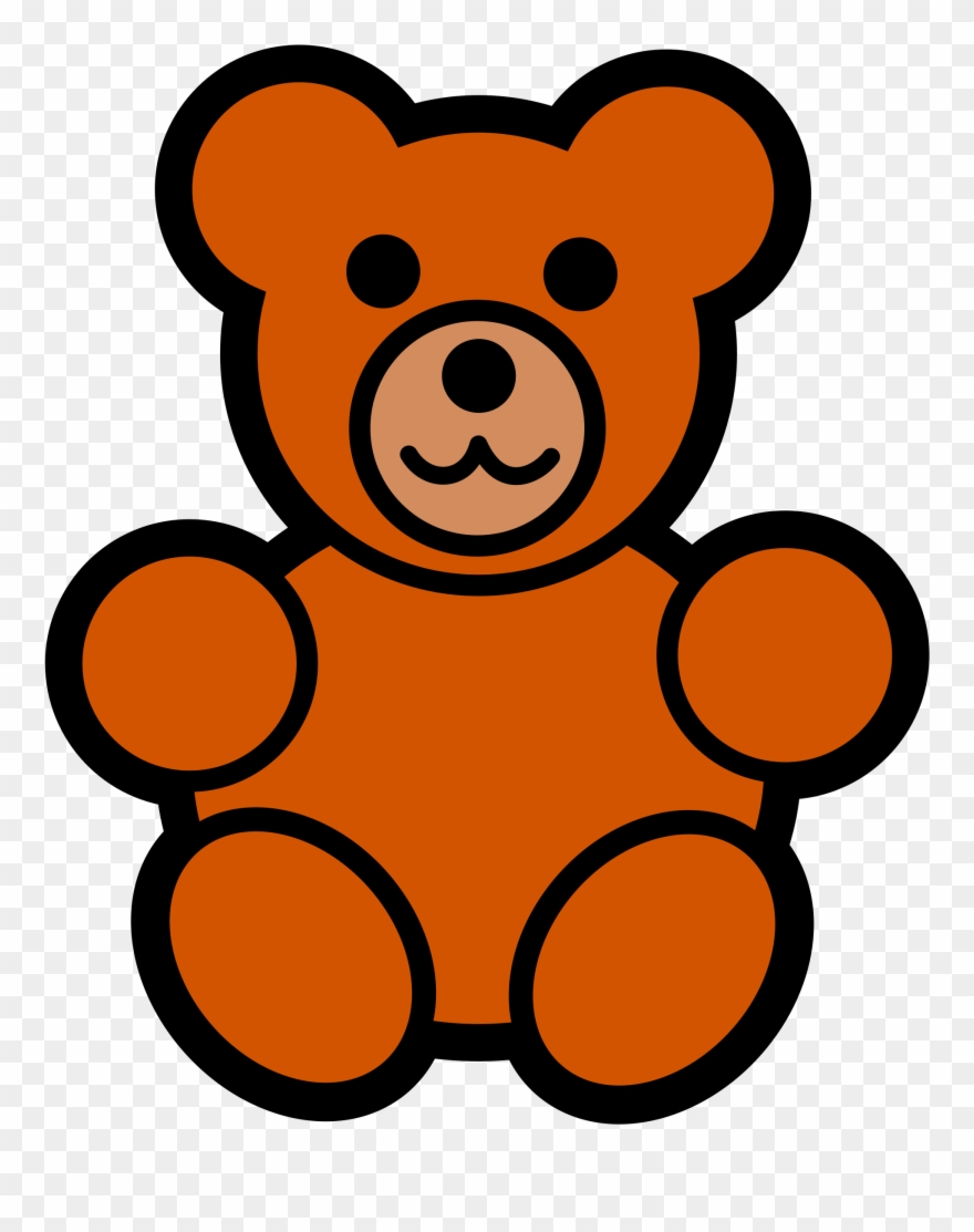 Baby bear clipart free jpg library download Teddy Bear Clipart Free Clipart Images - Easy Cartoon Teddy Bear ... jpg library download