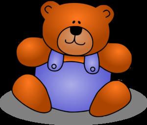 Baby bear clipart vector freeuse stock Teddy Bear Clip Art at Clker.com - vector clip art online, royalty ... vector freeuse stock
