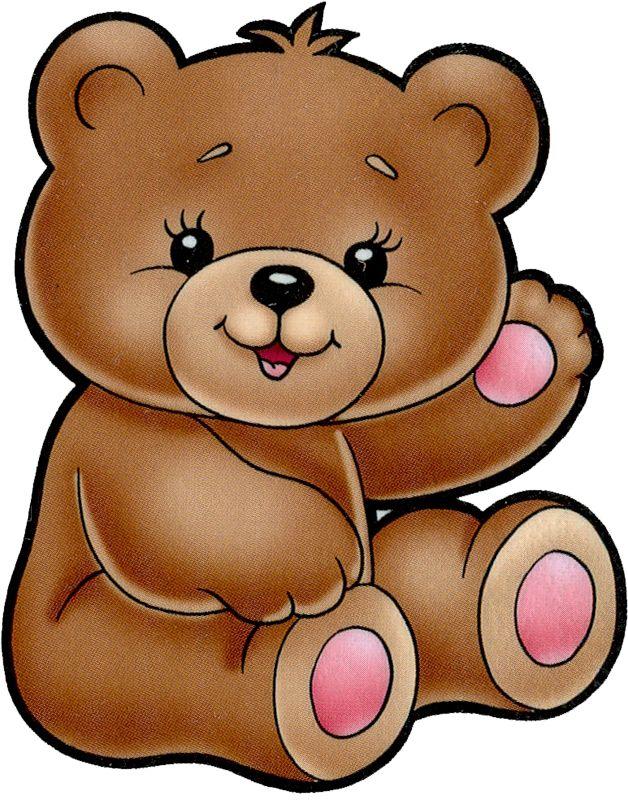 Baby bear clipart face banner free Teddy Bear Cartoon - Clip Art Library banner free