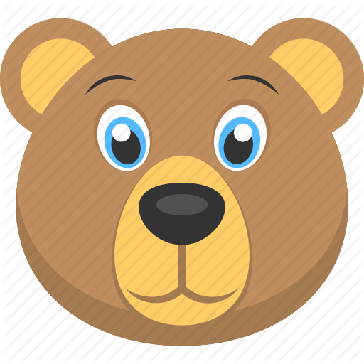 Baby bear clipart face picture freeuse stock \'Animal and Birds\' by Creative Stall picture freeuse stock