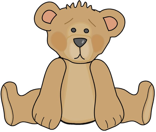 Baby bear clipart free clip black and white library Free Teddy Bears Clipart, Download Free Clip Art, Free Clip Art on ... clip black and white library