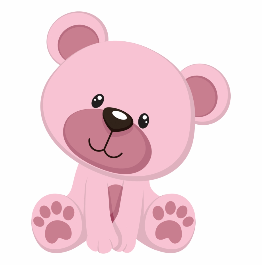 Baby bear clipart png clipart black and white library Baby Shower Bear Png - Pink Teddy Bear Clipart, Transparent Png ... clipart black and white library