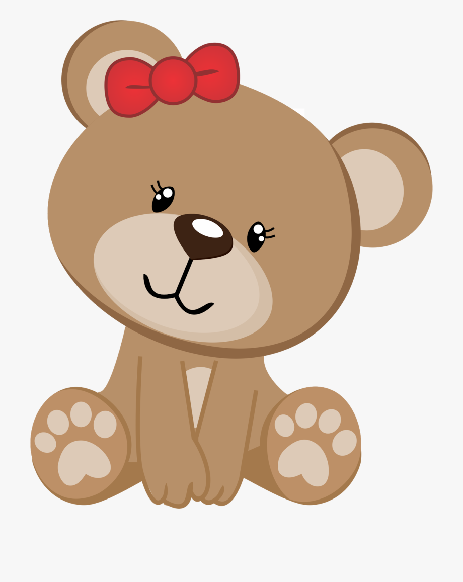 Baby bear clipart png image stock Baby Teddy Bear Clipart At Getdrawings - Ursinho Rosa E Marrom ... image stock