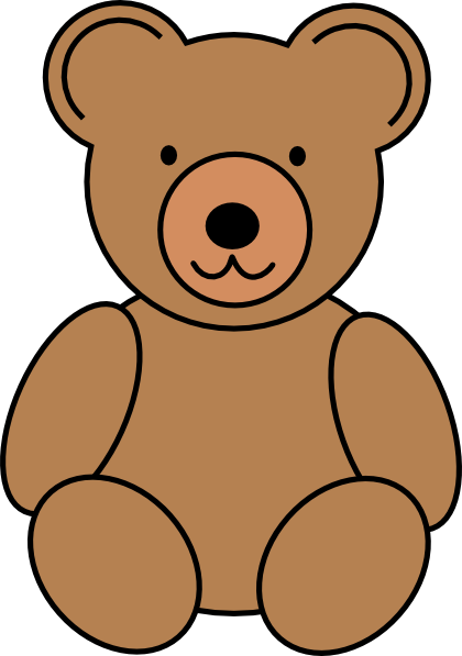Bear doll clipart banner transparent download Teddy Bear clip art - vector clip art online, royalty free ... banner transparent download