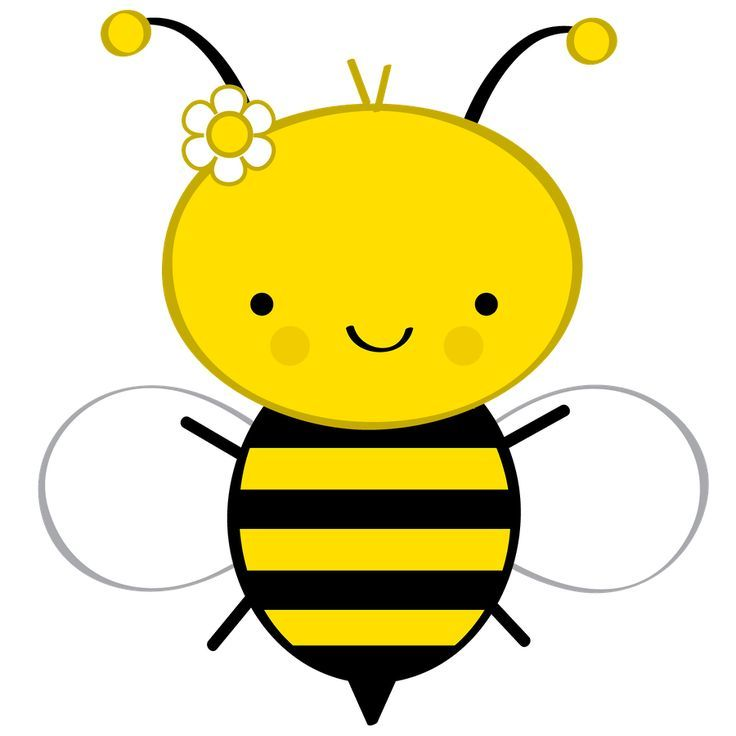 Baby bee girl clipart clip transparent stock Cute Honey Bee   ... Bee Clipart on Pinterest   Bumble bee cartoon ... clip transparent stock