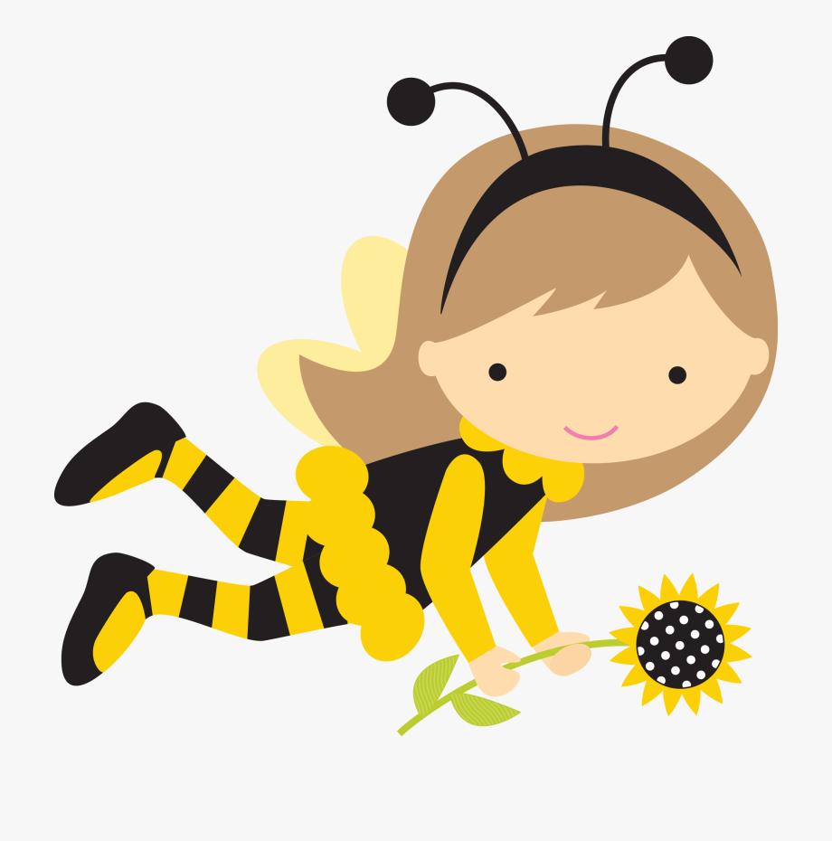 Baby bee girl clipart banner library library Menina Abelha Pesquisa Google Pinterest Bee Theme Ⓒ - Girl Bee Clip ... banner library library