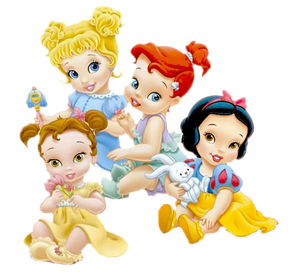 Baby belle clipart graphic transparent library princesas disney baby | Disney | Pinterest | Disney, Clip art and ... graphic transparent library