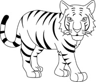Baby bengal tiger clipart black and white graphic Search Results for bengal tiger - Clip Art - Pictures - Graphics ... graphic
