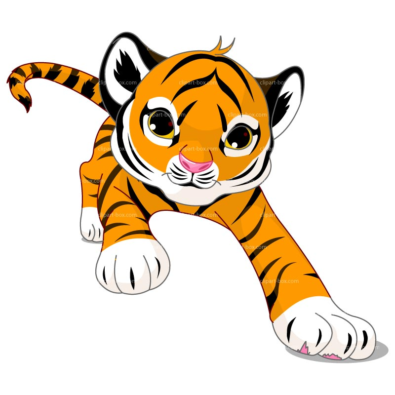 Tiger clipart for kids graphic freeuse library Free Bengal Tiger Clipart, Download Free Clip Art, Free Clip Art on ... graphic freeuse library