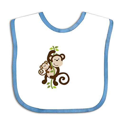 Baby bib clipart svg Amazon.com: Mommy Clipart Baby Monkey Bib -Cute Cloth Baby Bib ... svg