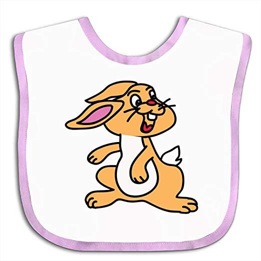 Baby bib clipart clip art freeuse download Amazon.com: Soft Clipart Rabbit Baby bibs - Cute Cloth Baby Bib ... clip art freeuse download