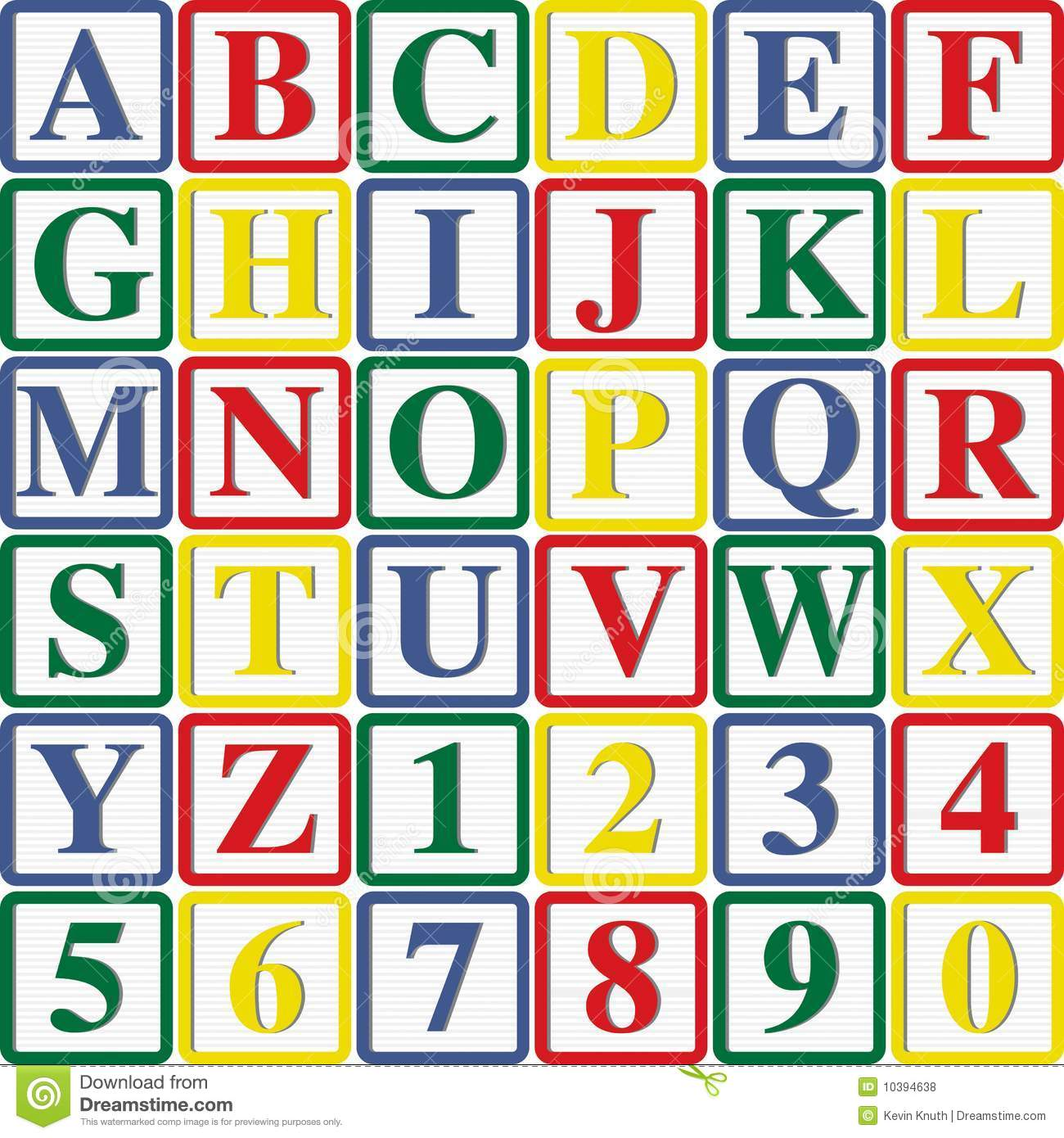 Blank kid letters and. Baby blocks alphabet clipart