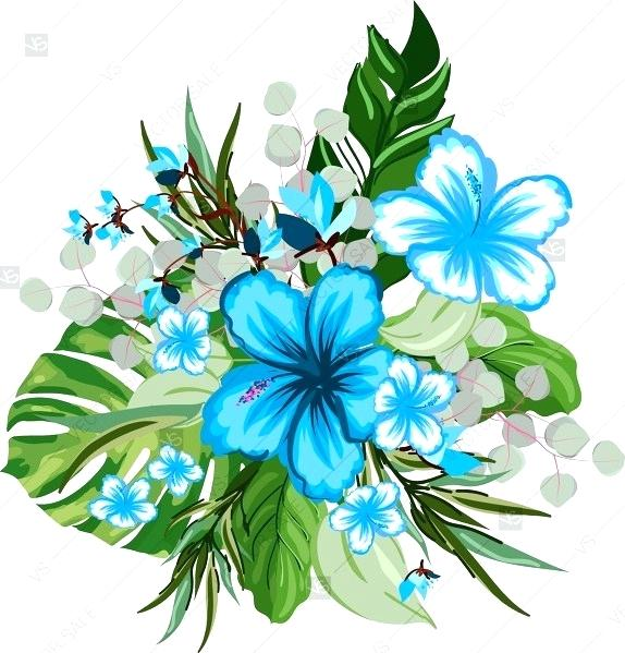 Baby blue bouquet clipart graphic freeuse download blue rose bouquet clipart – propagandists.org graphic freeuse download