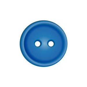 Baby blue button clipart