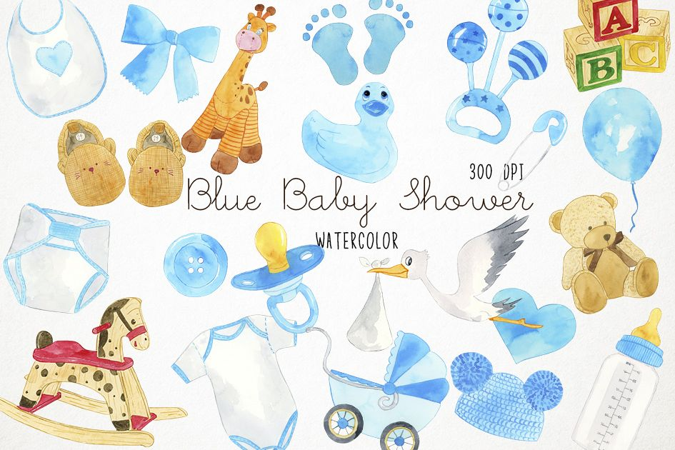 Baby blue clipart
