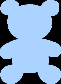 Clipart baby blue clip download Teddy, Baby Blue Clip Art at Clker.com - vector clip art online ... clip download