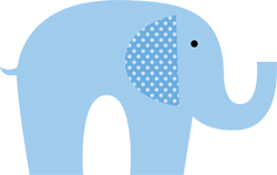 Baby blue elephant clipart graphic transparent library Free Blue Elephant Cliparts, Download Free Clip Art, Free Clip Art ... graphic transparent library