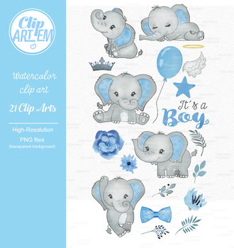 Baby blue elephant clipart png transparent stock Blue gray its a boy elephant clipart crown star baby blue clipart 7da png transparent stock