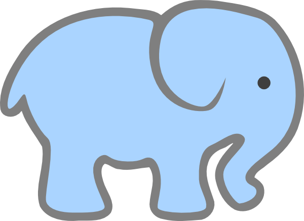 Baby blue elephant clipart download Free Blue Elephant Cliparts, Download Free Clip Art, Free Clip Art ... download