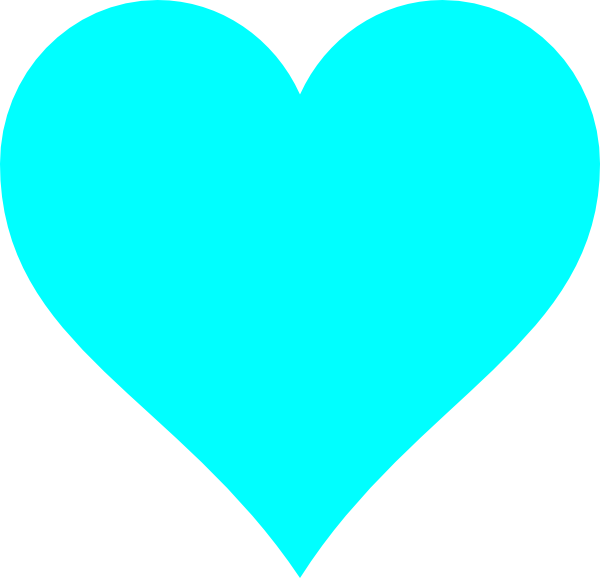 Blue heart clipart transparent graphic freeuse download Light Blue Heart Clip Art at Clker.com - vector clip art online ... graphic freeuse download