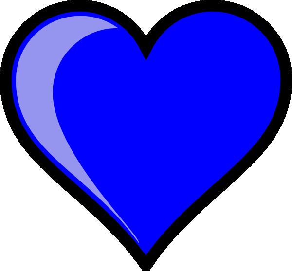 Blue heart clipart transparent clip black and white download Light Blue Heart Clipart | Clipart Panda - Free Clipart Images clip black and white download