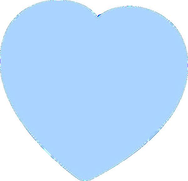 Baby blue heart clipart banner transparent download Light Blue Heart Clip Art at Clker.com - vector clip art online ... banner transparent download