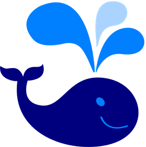 Baby blue whale clipart image royalty free stock Baby Blue Whale PNG, SVG Clip art for Web - Download Clip Art, PNG ... image royalty free stock
